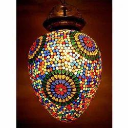 Susajjit Decor LED Mosaic Hanging Lamp