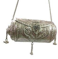 017ed8597a9e Metal Bag Metal brass clutch Vintage clutch Handmade bag metal purse round  wallet hanging