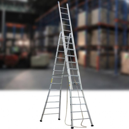 Aluminum Self Supporting Extension Ladder Manufacturer