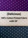 Cotton Printed Fabric (Delicious)