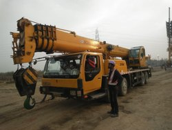 Tyre Mounted Cranes Rental Services