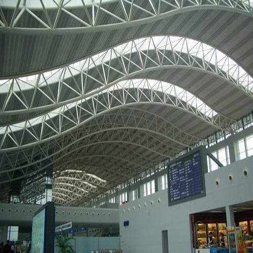 Steel Space Frame Roofing Structure For Large Roofs Id