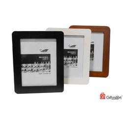 Giftmart Black,White And Brown Wooden Frame, Packaging Type: Box