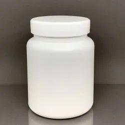 500g HDPE Round Wide Mouth Powder Jar