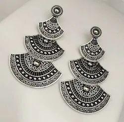 Oxidized Fashion Earrings