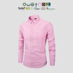 GOTS Organic Cotton Mens Oxford Shirts