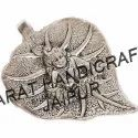 Silver Plated Leaf Laddu Gopal