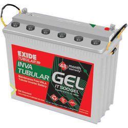 Exide Industrial Tubular Batteries, Capacity: 100 AH TO 230AH