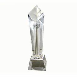 Designer Crystal Trophy