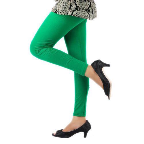 4da25568985f3 Blossom Green Ladies Plain Ankle Length Leggings, Rs 150 /piece | ID ...