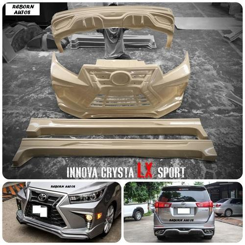 Car Body Kits >> Toyota Innova Wide Sport Body Kit Complete Set