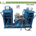 Twin Hydraulic Semi. Auto. Fly Ash Bricks & Block Machine