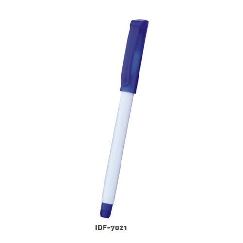 White,Blue ApparelTech Plastic Corporate Gifting Pens