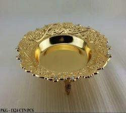 Brass Chocolate Basket