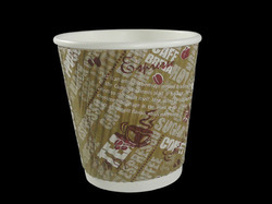 Brown Paper Cups, Capacity: 150 mL