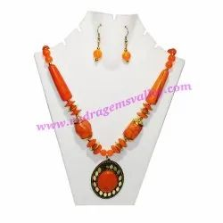 Multicolor Beaded India Fancy Necklace Sets, Size: Standard