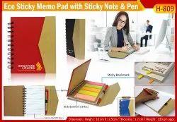 Eco Sticky Note Pad H-809