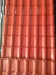 Red Colour PVC Roofing Sheet