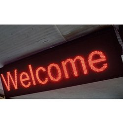 LED Welcome Display Board