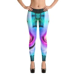 Straight Fit Devarshy Printed Spandex Legging