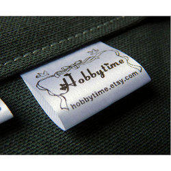 Black And White Clothing Label, Packaging Type: Box