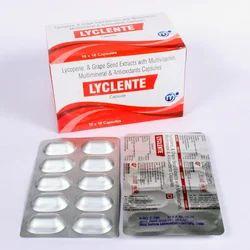 Lycopene Antioxidant Multivitamin Capsules