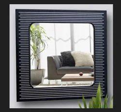 Strips Square Designer Mirror