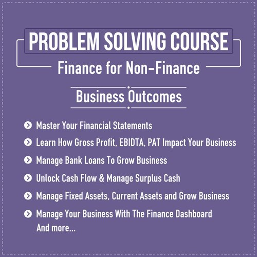 Finance Management Course Finance for Non Finance