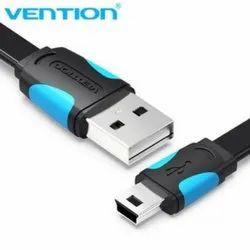 Black & Blue USB 2.0 to Mini USB 5 Pin Cable