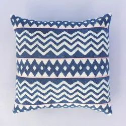 Indigo Dabu Cushion Pillow Cushion Cover