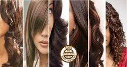 Human Hair curl texture