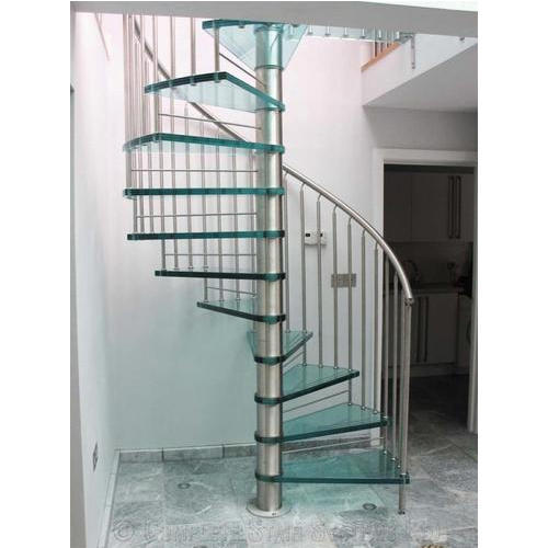 Spiral Stainless Steel Spiral Staircase