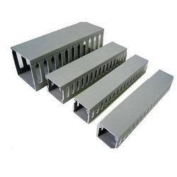 Wall/Desk PVC Wiring Channel, for Electric Wire Installation, Perforated Cable Tray
