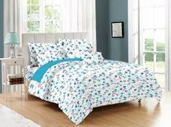 Multi Colour Floral Bed Sheet