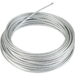 Rapier Loom Pvc Coated Wire Rope Size 4.5mm , 5.5mm at Rs 80 /meter ...