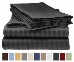 Satin Stripes Bed Sheet