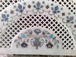 Italian Marble Jali Inlay Work