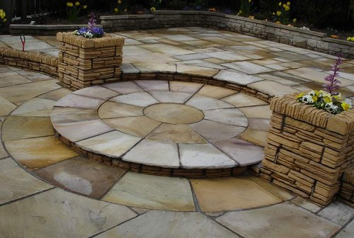 Paving Stone Sandstone Pavers Thickness 22mm Id 20749058191