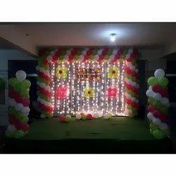 Birthday Balloon Decoration Service, Area / Size: 8/12 Feet, Hyderabad