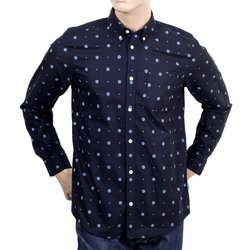 Mens Cotton Full Sleeve Printed Shirt, Size: 38-44