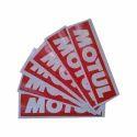 Vinyl Printed Sticker, Shape: Rectangle
