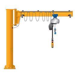 Color Coated Pillar Mounted Jib Crane