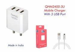 Quantum QHm2400-3U Mobile Charger