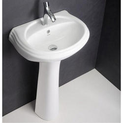 Hindware Delta Half Pedestal Wash Basin