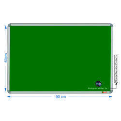 Obasix Spbg6090 Green Notice Board