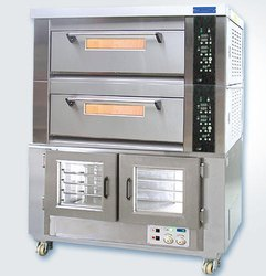 Deck Oven With Proofer, Capacity: 4 Tray, 13.2 KW