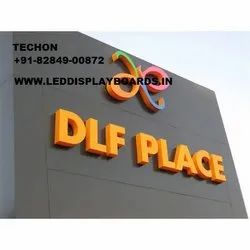 TECHON LED Acrylic Letters Board