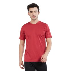 Supima Cotton T-shirt Red Color