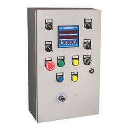Mild Steel Single Phase Electric Control Panel, For PLC Automation