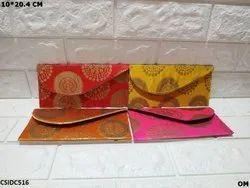 Raw Silk Shagun Envelope